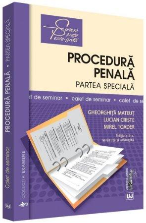 Procedura penala. Partea speciala. Caiet de seminar. Editia a 2-a - Mateut, Criste, Toader