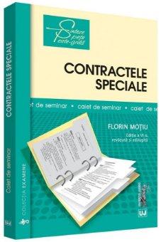 Contractele speciale. Sinteze teoretice, teste-grila si spete - Motiu