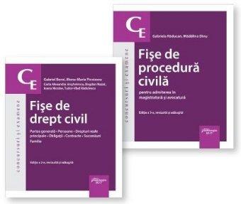 Pachet Fise drept civil si procedura civila 2017