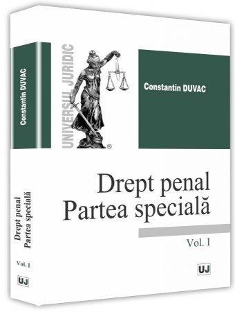 Drept penal Partea speciala vol I - Duvac