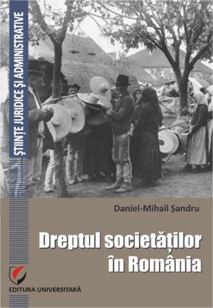 Dreptul societatilor in Romania - Sandru