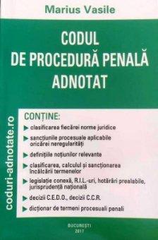 Codul de procedura penala adnotat - Marius Vasile