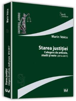Starea justitiei - Marin Voicu