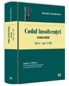 Codul insolventei comentat  - Tandareanu