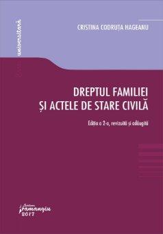 Dreptul familiei si actele de stare civila_Hageanu