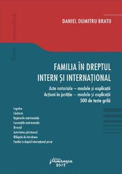 Familia in dreptul inter si international_BRATU