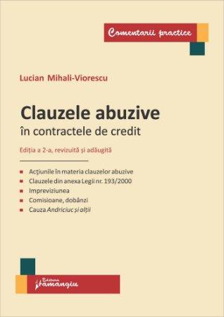 Clauzele abuzive in contractele de credit Editia a 2-a - Viorescu