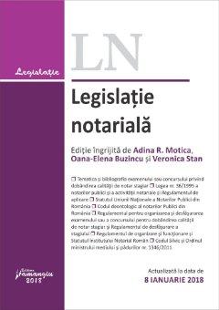 Legislatie notariala