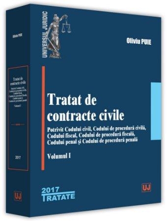 Tratat de contracte civile - Volumul I - Puie