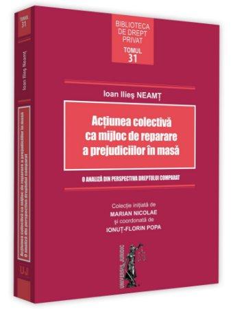 Actiunea colectiva ca mijloc de reparare a prejudiciilor in masa - Neamt