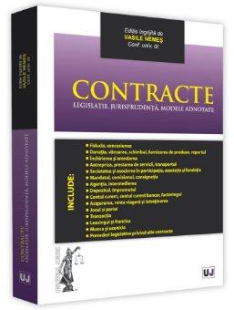 Contracte. Legislatie, jurisprudenta, modele adnotate - Nemes