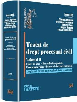Tratat de drept procesual civil. Vol. II - Les