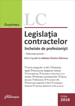 Legislatia contractelor incheiate de profesionisti