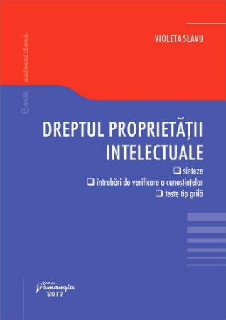 Dreptul proprietatii intelectuale_Violeta Slavu