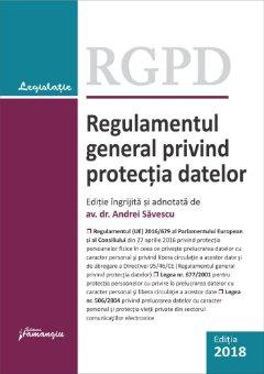 Regulamentul general privind protectia datelor