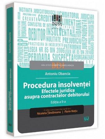 Procedura insolventei. Efectele juridice asupra contractelor debitorului - Obancia