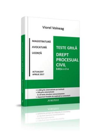 Teste grila. Drept procesual civil - Voineag