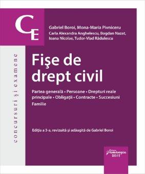Fise de drept civil_ed a 3-a_Gabriel Boroi, Mona Maria Pivniceru