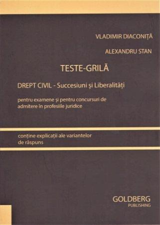 Teste-Grila. Drept civil - Succesiuni si Liberalitati  - Diaconita, Stan