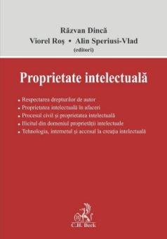 Proprietate intelectuala - Dinca, Ros, Speriusi-Vlad