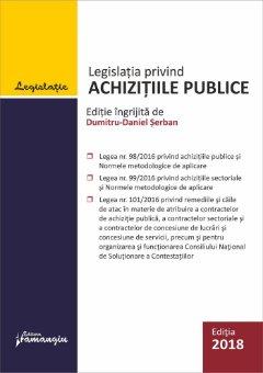 Legislatia privind achizitiile publice