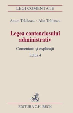 Legea contenciosului administrativ - Trailescu