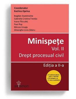 Minispete. Vol. II. Drept procesual civil. Editia a 2-a - Evelina Oprina