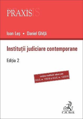 Institutii judiciare contemporane - Ioan Les, Daniel Ghita