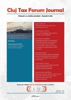 Cluj Tax Forum Journal 5-2018