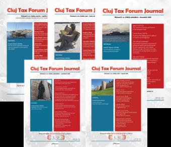 Abonament Cluj Tax Forum Journal 2018