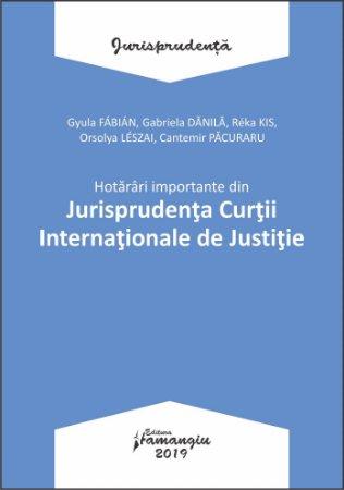 Hotarari importante din Jurisprudenta Curtii Internationale de Justitie