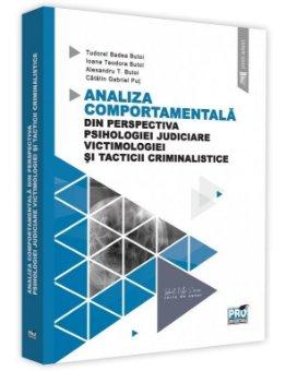 Analiza comportamentala din perspectiva psihologiei judiciare, victimologiei si tacticii criminalistice - Butoi