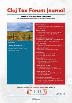 Cluj Tax Forum Journal 2/2019