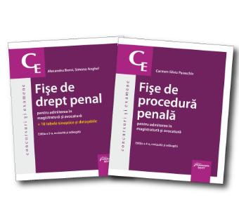 Pachet Fise drept penal si procedura penala 2019