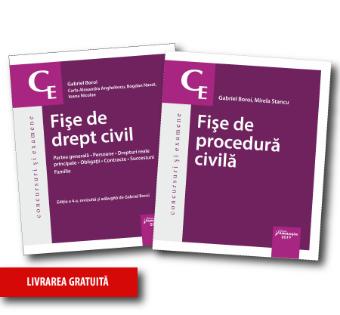 Pachet Fise drept civil si procedura civila 2019 - Boroi, Stancu