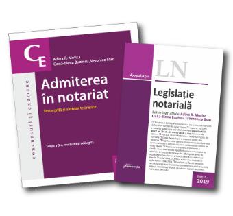 Pachet Admiterea in notariat 2019