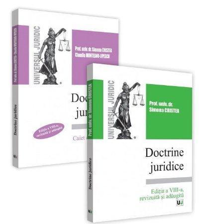 Doctrine juridice - curs si caiet de seminar - editia a 8-a