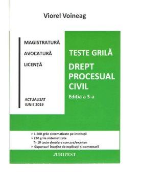 Teste grila. Drept procesual civil. Editia a 3-a - Viorel Voineag