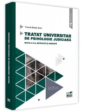 Tratat universitar de psihologie judiciara - Tudorel Badea Butoi