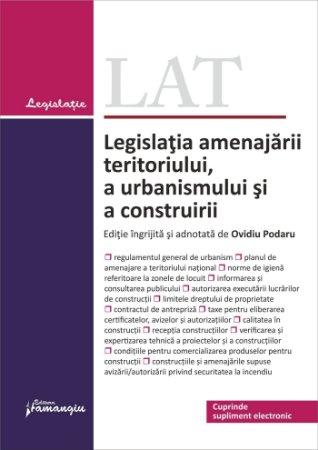 Imagine Legislatia amenajarii teritoriului, a urbanismului si a construirii