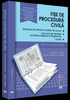 Fise de procedura civila 2019. Editia a VI-a, revizuita si completata