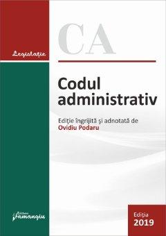 Codul administrativ. Actualizat la 2 octombrie  2019