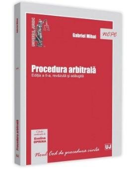 Procedura arbitrala. Editia a 2-a - Gabriel Mihai