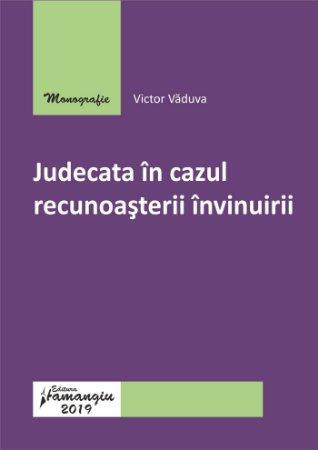 Judecata in cazul recunoasterii invinuirii_Vaduva