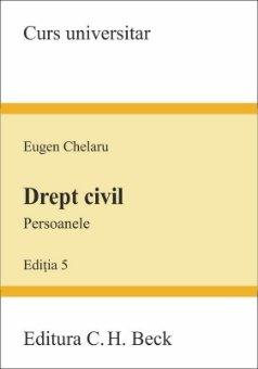 Drept civil. Persoanele - editia a 5-a - Chelaru
