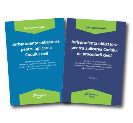 Pachet Jurisprudenta obligatorie pentru aplicarea Codului civil si a Codului de procedura civila 2020