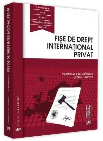 Fise de drept international privat - Barbieru, Dariescu