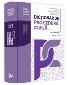 Dictionar de procedura civila. Editia a 3-a - Costin, Minea, Les, Spinei