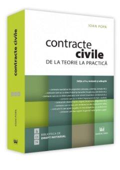 Contracte civile. Editia a 2-a - Popa