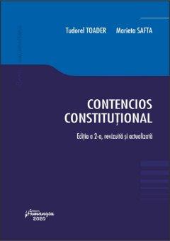 Contencios constitutional_ed2 - Tudorel Toader, Marieta Safta
